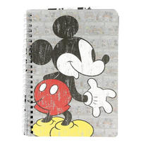 Mickey Mouse A5 Softback Notebook