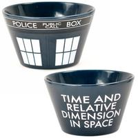 Doctor Who TARDIS Ceramic Bowl