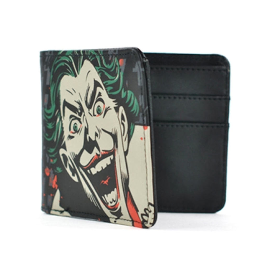 The Joker Face Boxed Wallet