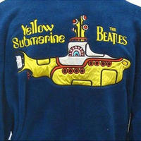 The Beatles Yellow Submarine Blue Fleece Dressing Gown Thumbnail 3
