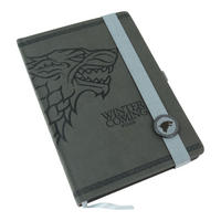 Game of Thrones Stark Premium A5 Hardback Notebook