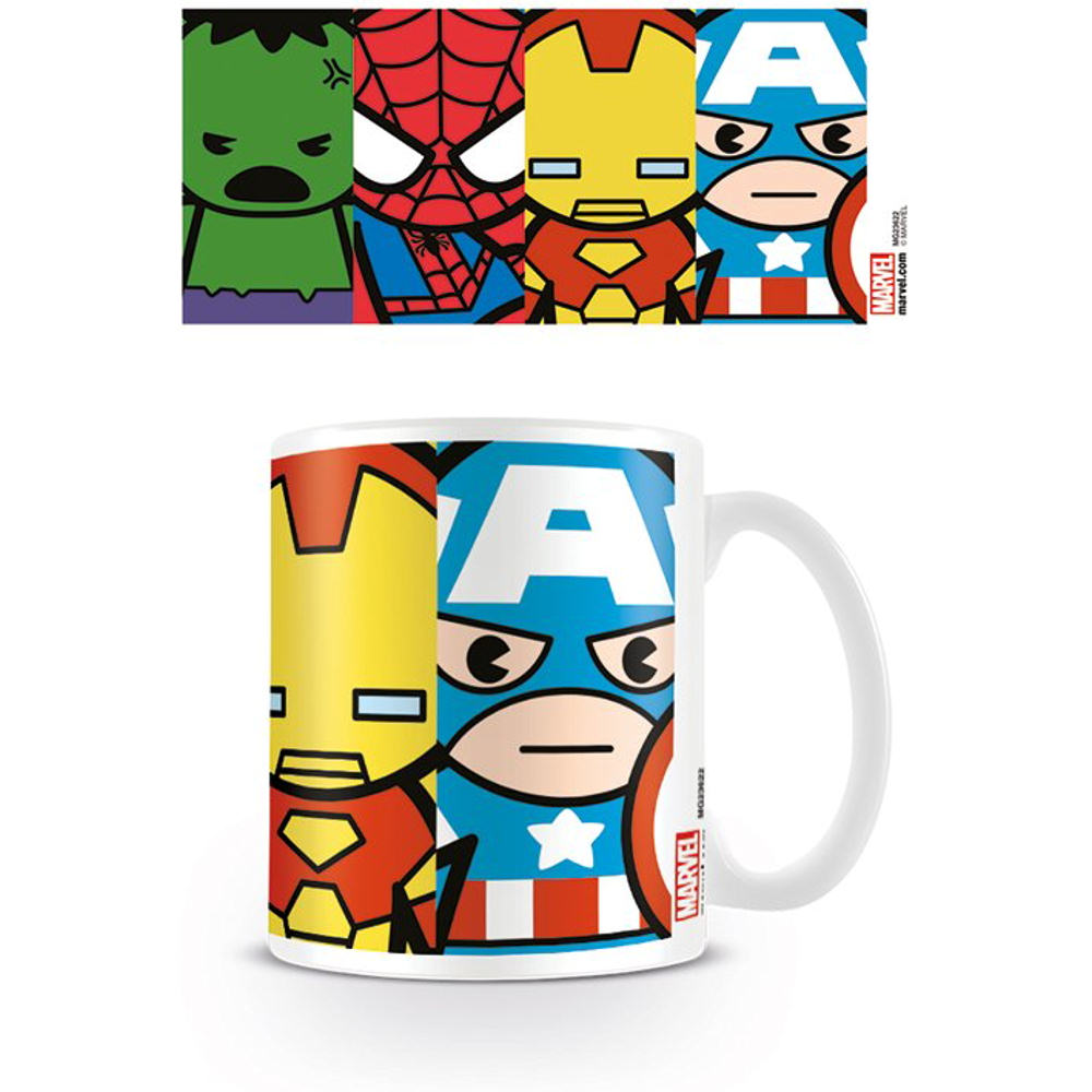 Marvel Avengers Kawaii Mug