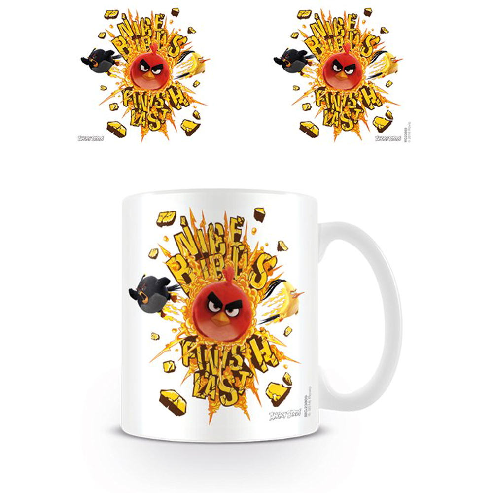 Angry Birds Nice Birds Finish Last Mug