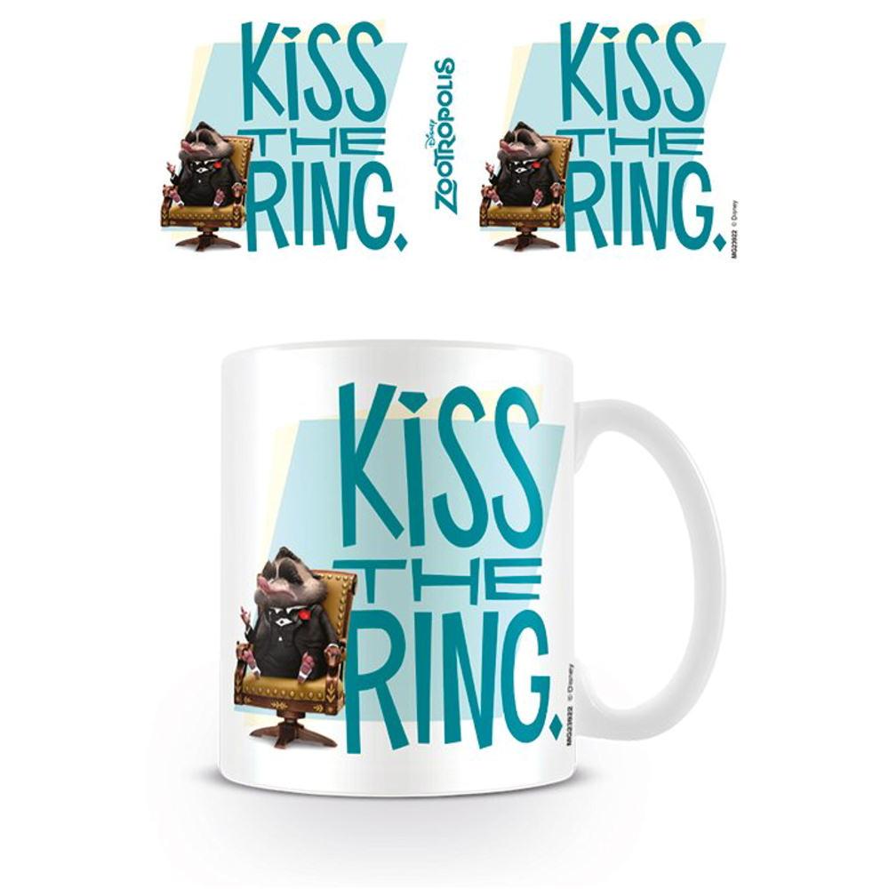 zootropolis kiss the ring mug ceramic coffee tea cup zootopia film mr big shrew awesome db mrbig glass top