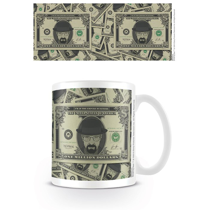 Breaking Bad Heisenberg Dollar Mug