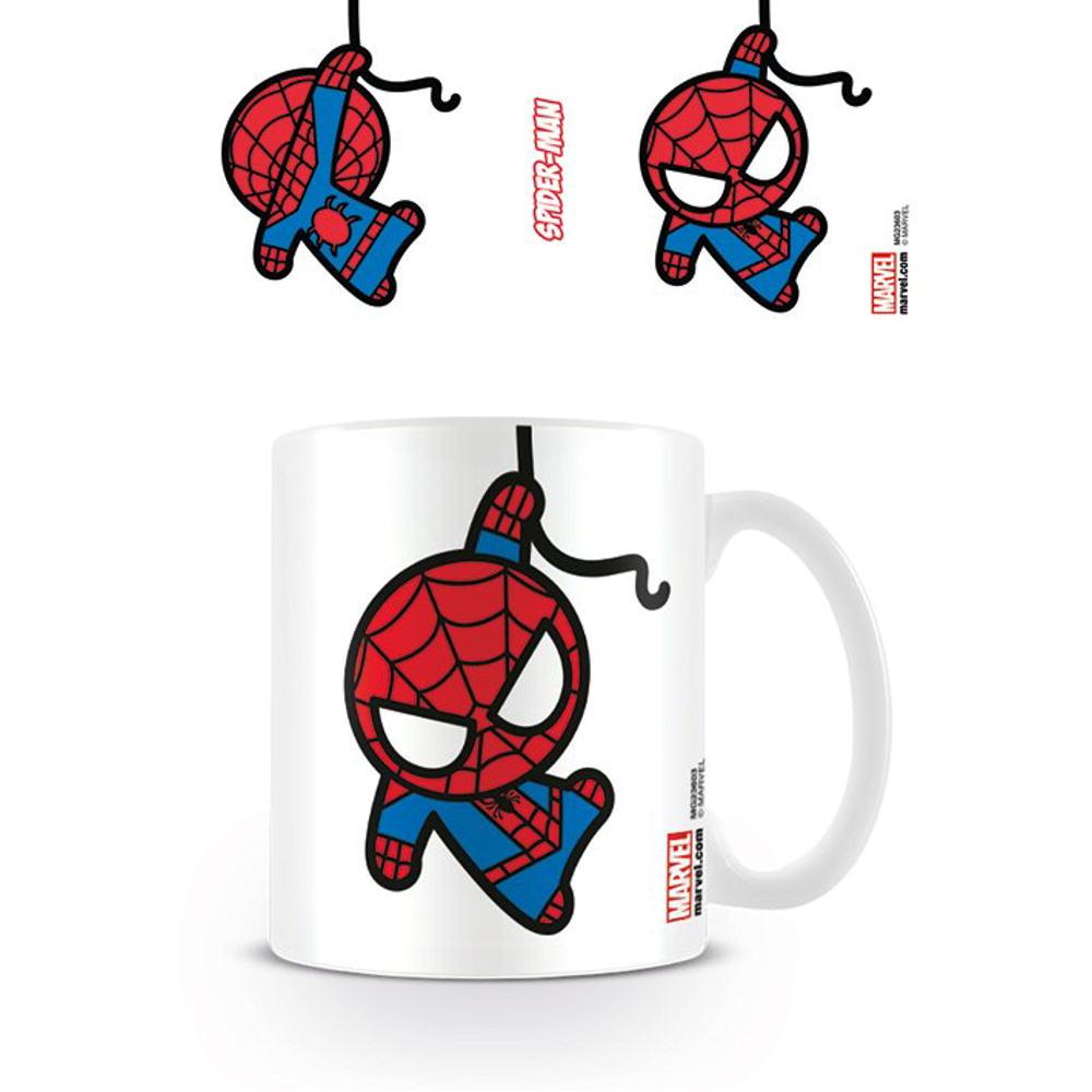Spider Man Kawaii Mug Standard Kitschagogo