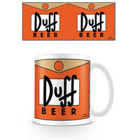 The Simpsons Duff Beer Mug