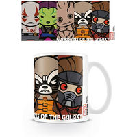 Guardians Of The Galaxy Kawaii Mug