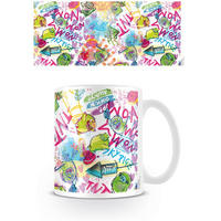 Angry Birds Neon Graffiti Pigs Mug Thumbnail 1