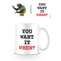 Zootropolis You Want It When? Mug