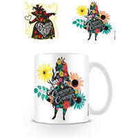 "Alice In Wonderland ""Curiouser And Curiouser"" Mug"