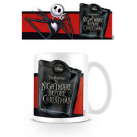 Nightmare Before Christmas Jack Skellington Banner Mug