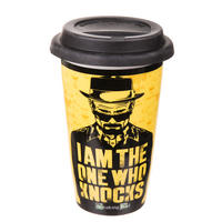 Breaking Bad I Am The One Who Knocks Ceramic Travel Mug
