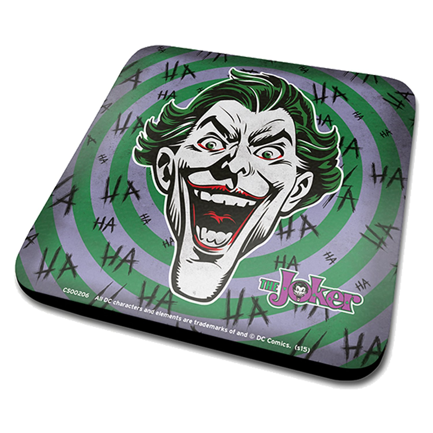 The Joker Face Ha Ha Ha Coaster