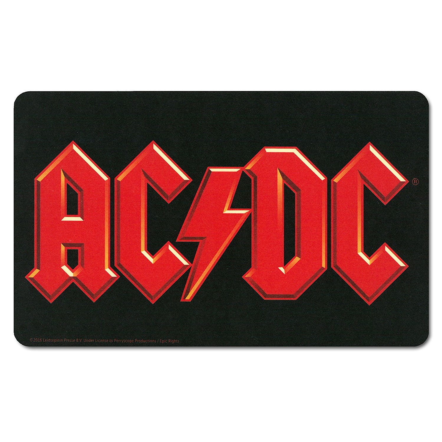 AC/DC Logo Breakfast Cutting Board