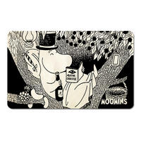 Moominpapa Reading Agatha Christie Breakfast Cutting Board