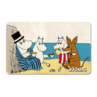 The Moomins Tea On The Beach Breakfast Cutting Board