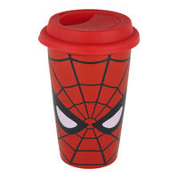 Spider-Man Face Ceramic Travel Mug