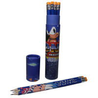 Sonic The Hedgehog Set of 12 HB Pencils