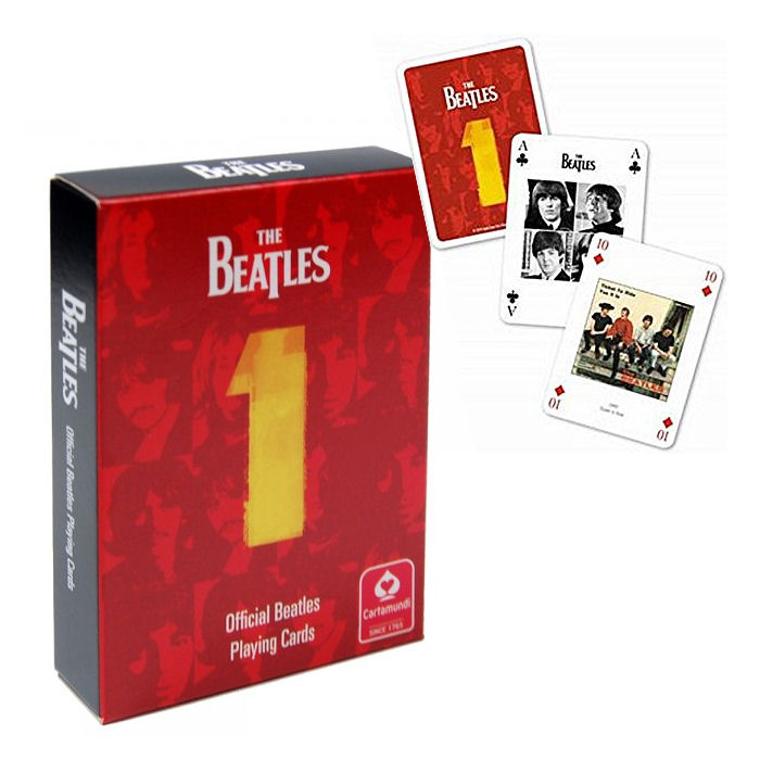 The Beatles No.1 Deck Of Playing Cards