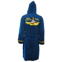 The Beatles Yellow Submarine Blue Fleece Dressing Gown