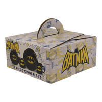 Batman Logo 4 Piece Dinner Set Thumbnail 2