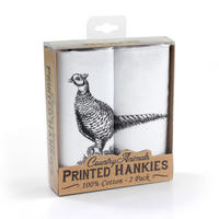 2 Pack Of Pheasant Hankies