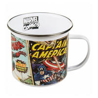 Marvel Comic Covers Enamel Mug