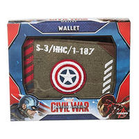 Captain America Vintage Army Canvas Wallet Thumbnail 4