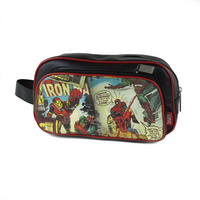Marvel Comics Black PU Wash Bag