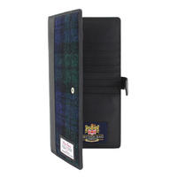 Harris Tweed Blackwatch Travel Document Holder