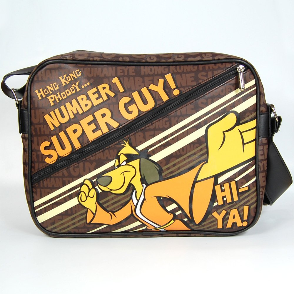 NEW HONG KONG PHOOEY MESSENGER GYM SCHOOL BAGS RETRO SHOULDER HANNA ...