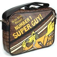 "Hanna Barbera Hong Kong Phooey ""No 1 Super Guy"" Shoulder Bag"