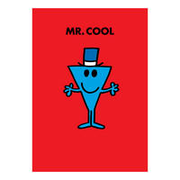 Mr Men Mr Cool Greeting Card