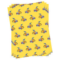 3 Sheets of Noddy Gift Wrap