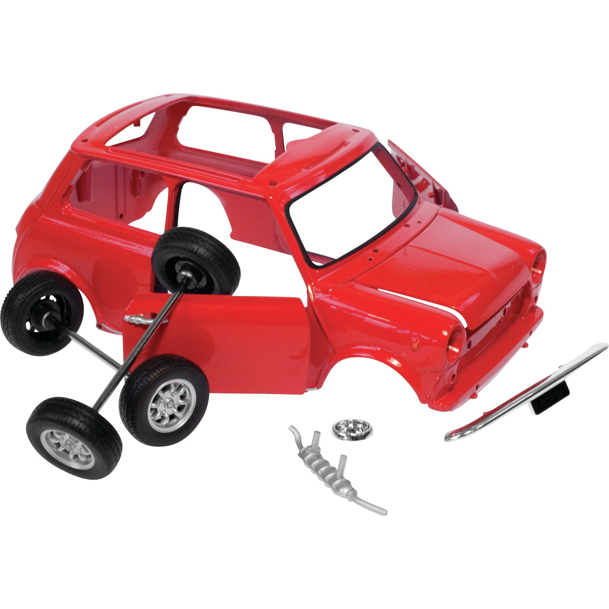 NEW HAYNES MINI BUILD YOUR OWN RETRO CAR MODEL 1 24 KIT