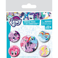 My Little Pony Badge Set