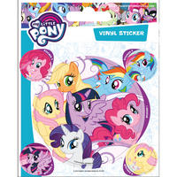 My Little Pony Sheet of Vinyl Stickers