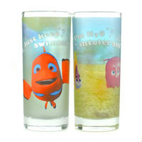 Finding Nemo Just Keep Swimming Set Of 2 Glasses