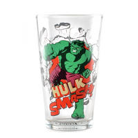 Hulk Smash Large Glass