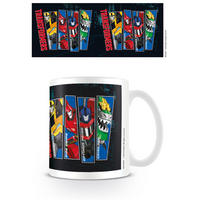 Transformers Character Strip Mug