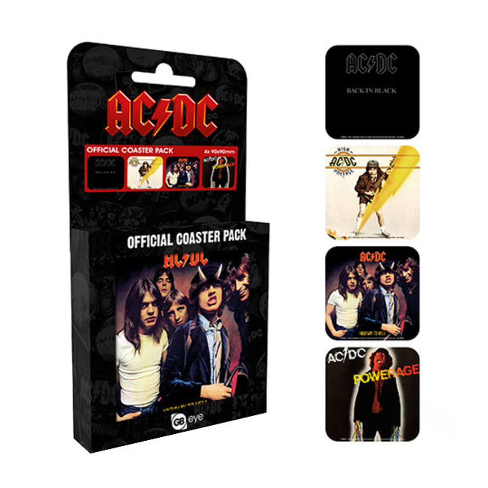 AC/DC Set of 4 Coasters