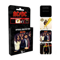 AC/DC Set of 4 Coasters Thumbnail 1