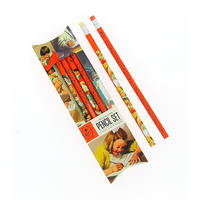 Set of 6 Ladybird Books Pencils