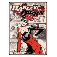 Harley Quinn A5 Steel Sign Thumbnail 1