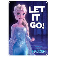 "Frozen ""Let It Go"" A5 Steel Sign"