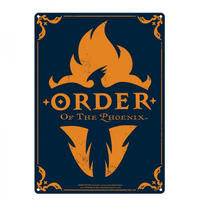 Harry Potter Order Of The Phoenix A3 Large Steel Sign