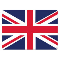 Union Jack Flag A5 Steel Sign Thumbnail 1
