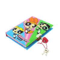 The Powerpuff Girls A6 Lockable Journal