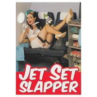 Jet Set Slapper Greeting Card